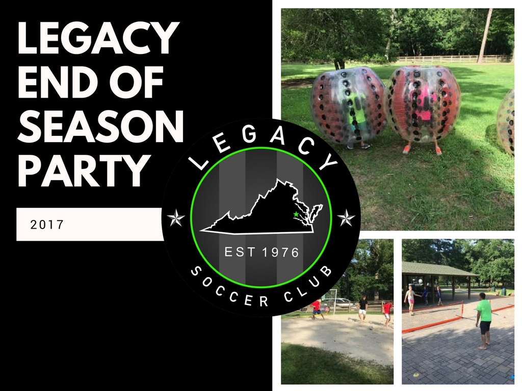 Legacy End Of Season Party