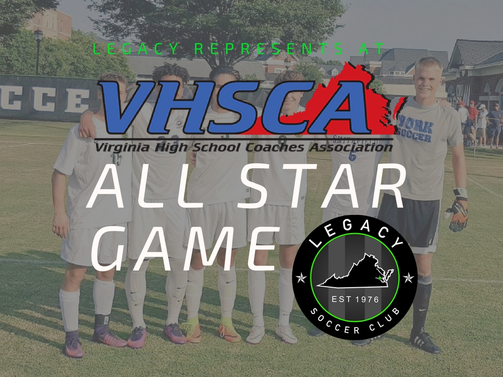 7 Legacy Players Represent in VHSCA All-Star Game