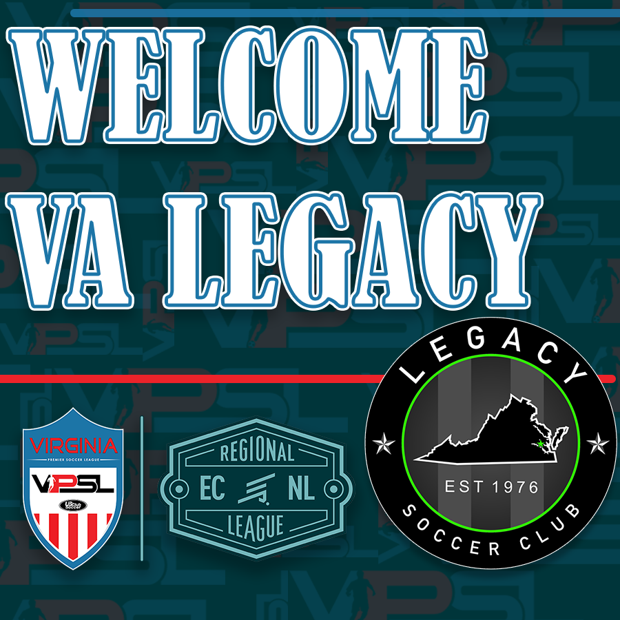 Virginia Legacy Boys and Girls to Join ECNL Regional League