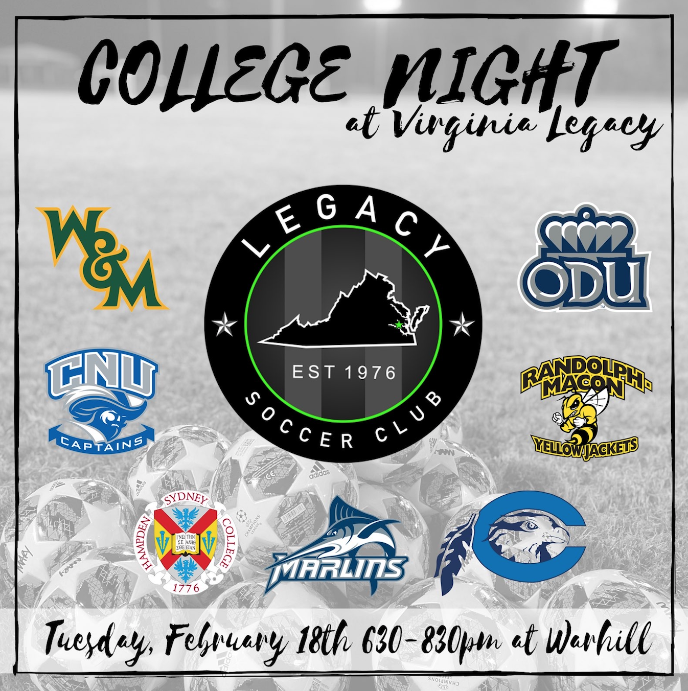 Legacy College ID Clinic - Feb 18th