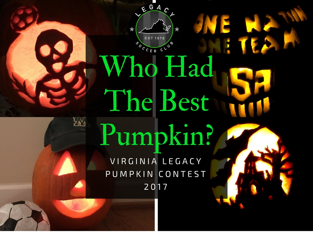 Legacy Pumpkin Contest Results