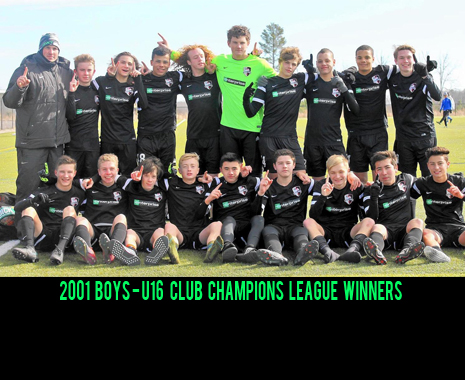 01' Boys Earn Milestone CCL League Finish